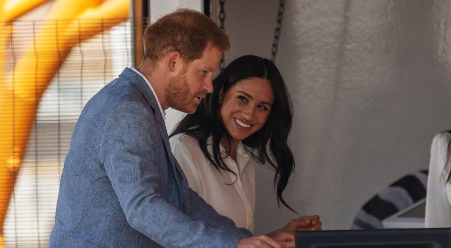 El reencuentro de Meghan Markle y el príncipe Harry en África