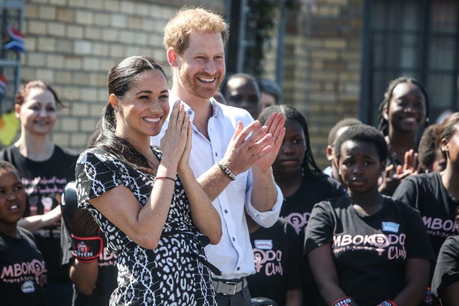 El príncipe Harry en Sudáfrica con Meghan, duquesa de Sussex
