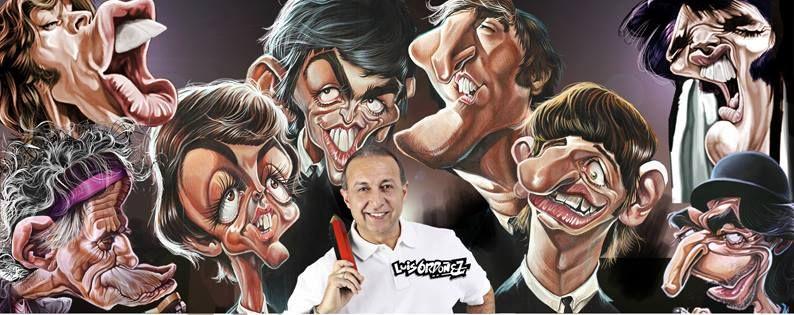 Luis Ordoñez y sus dibujos.