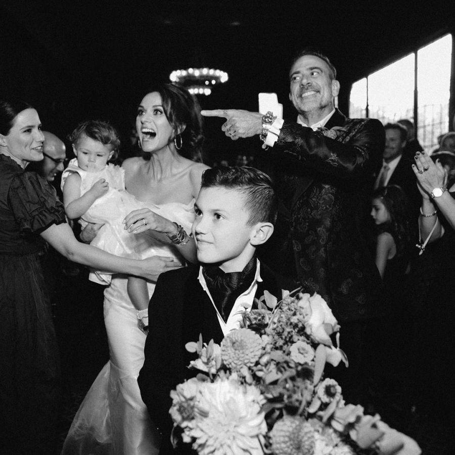 Jeffrey Dean Morgan se casó con Hilarie Burton