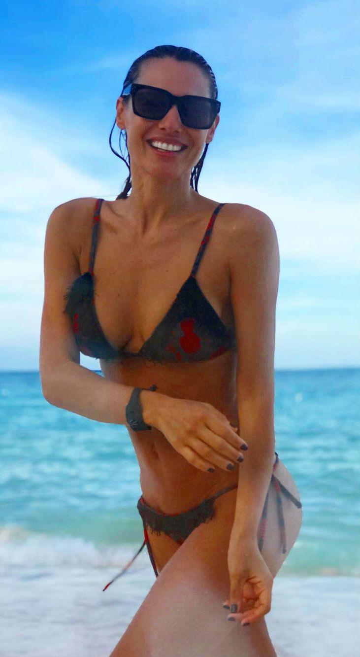Las fotos hot de Pampita en Punta Cana que hizo estallar las redes