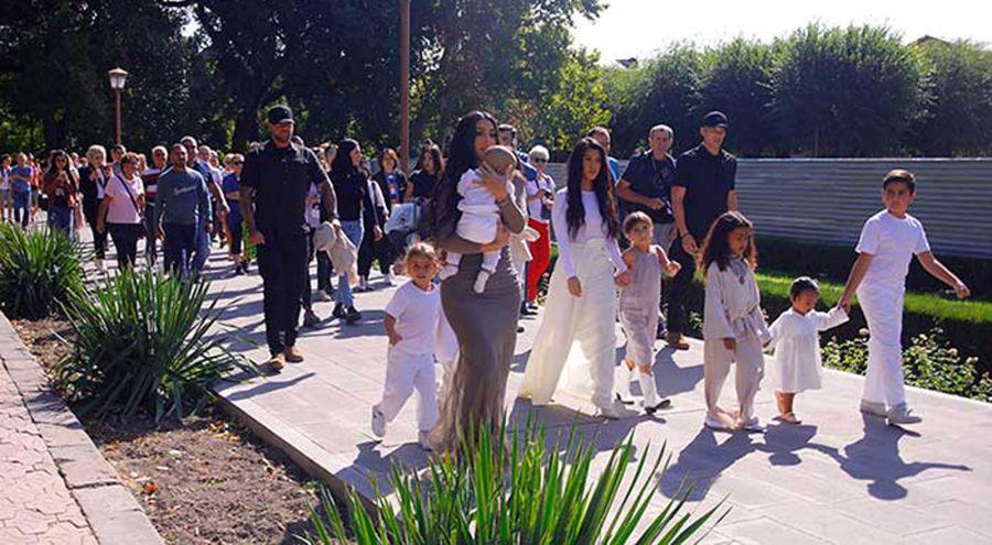 Kim Kardashian visita Armenia