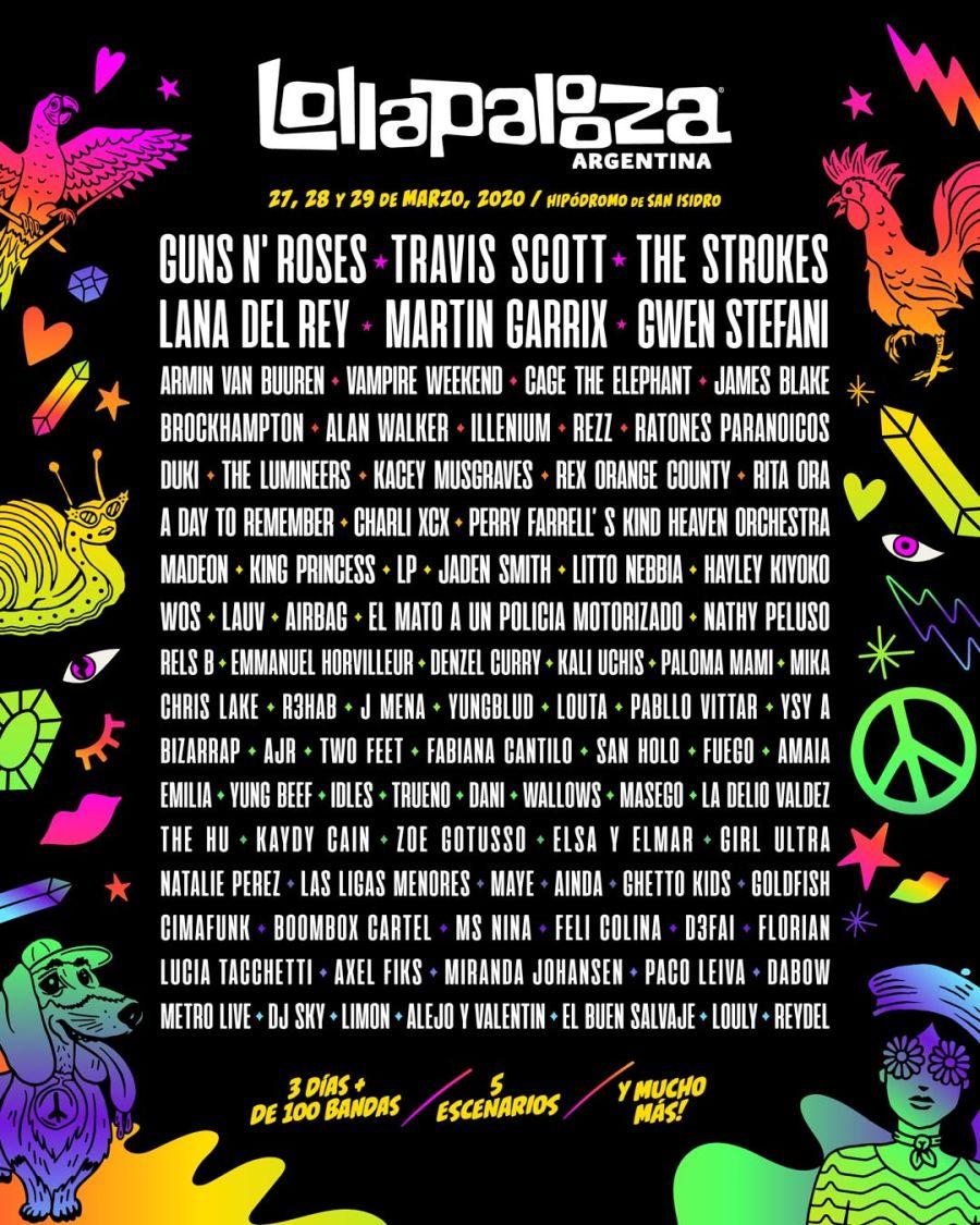 Lollapalooza 2020 20191010