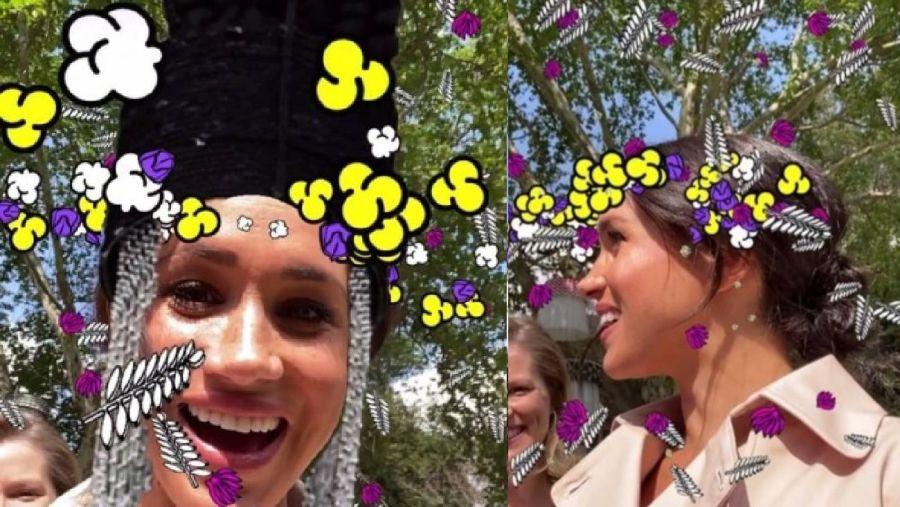 Meghan Markle selfie