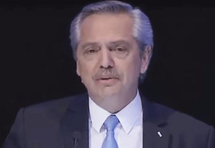 Alberto Fernández debate