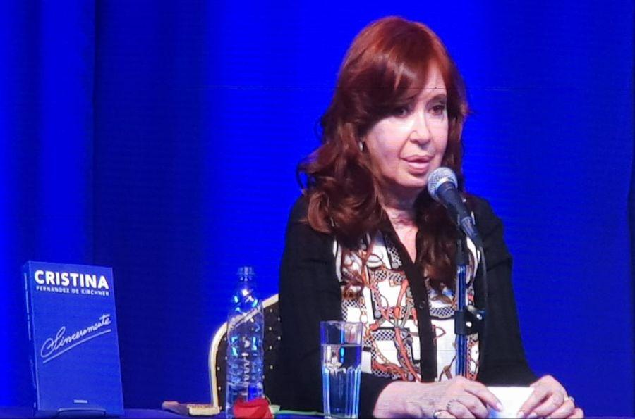 Cristina Kirchner presentación libro
