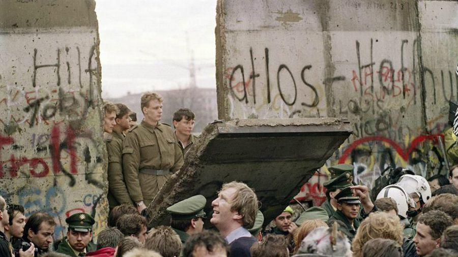 caida del muro de berlin 1989