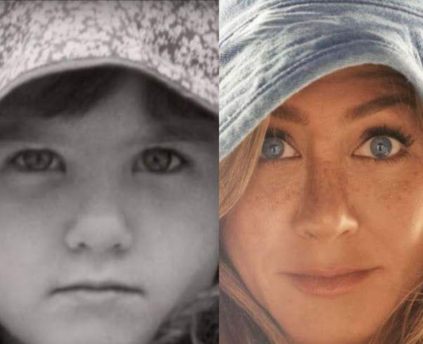 ¡Estás igual! Jennifer Aniston publicó una foto de su infancia