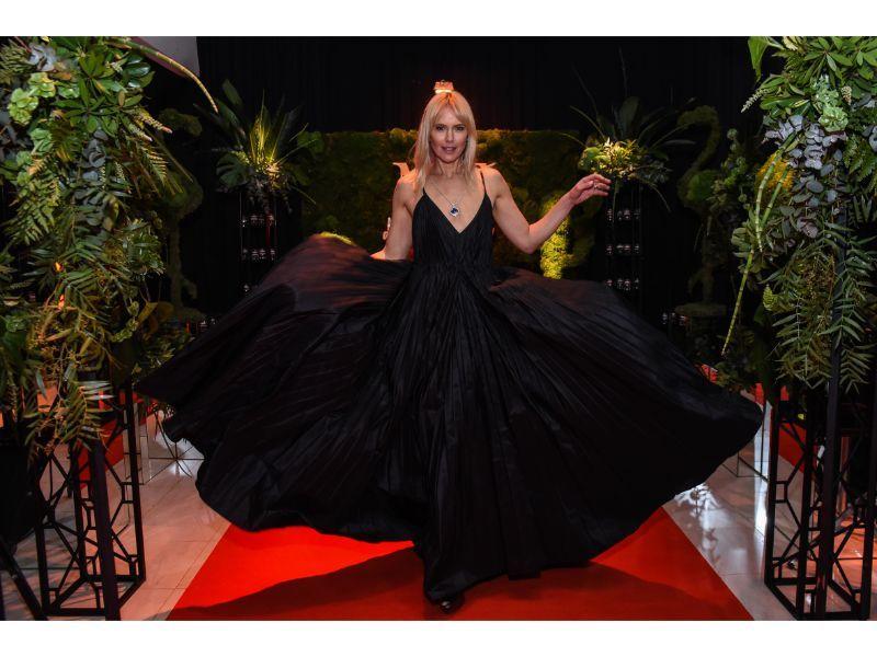 Valeria Mazza en los MF de Moda