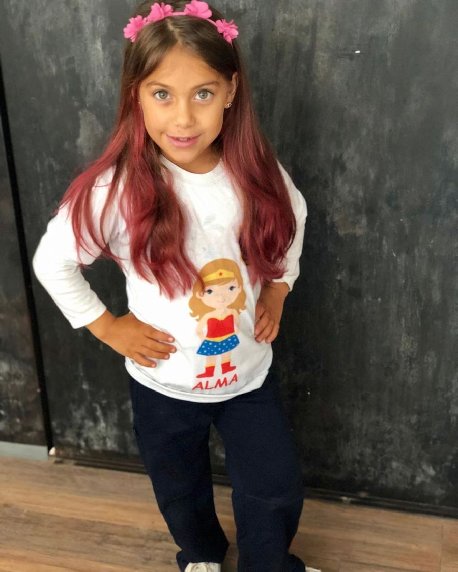 Cambio de look de la hija del Polaco