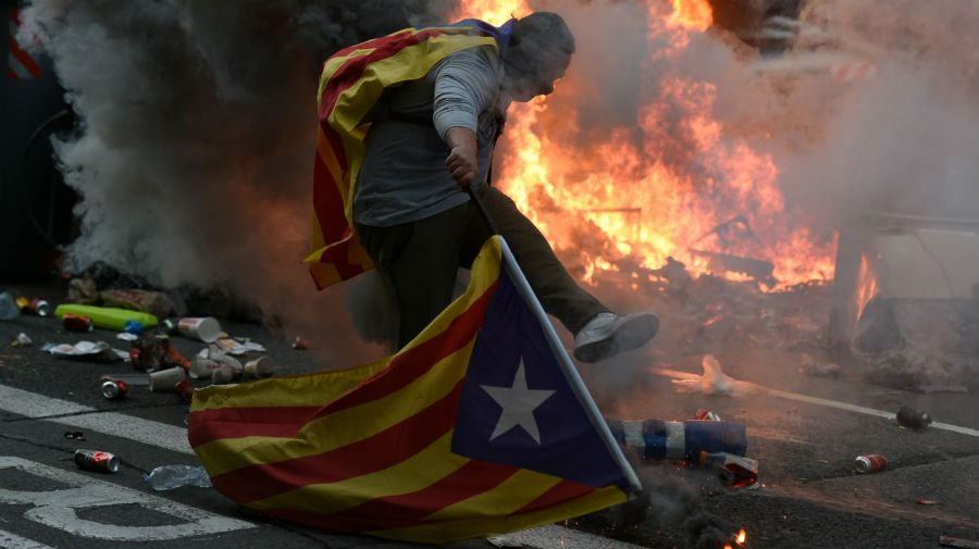 manifestaciones independencia cataluña 20191018