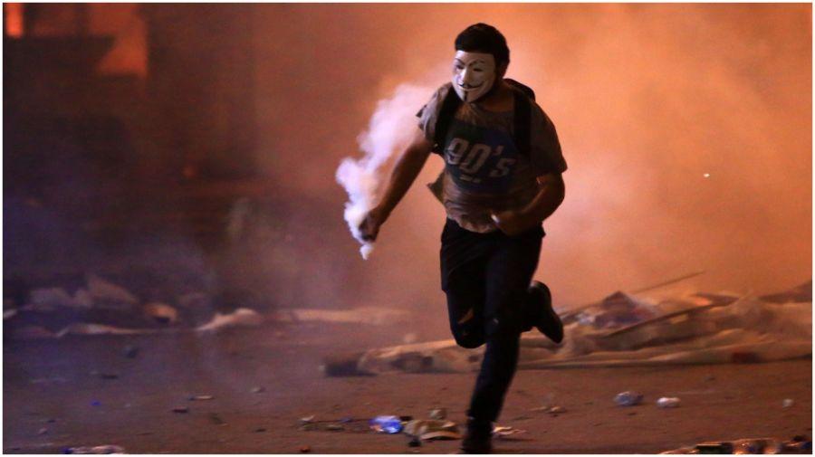 protesta libano