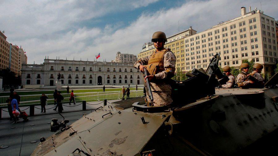 Impactantes imágenes de los disturbios en Chile.