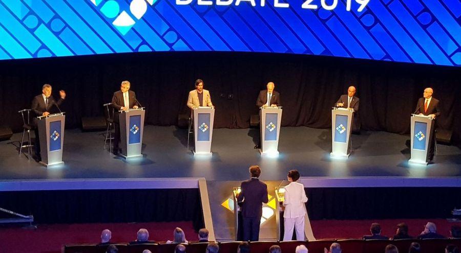 Asistentes al segundo debato en la Ciudad de Buenos Aires_g 20191020