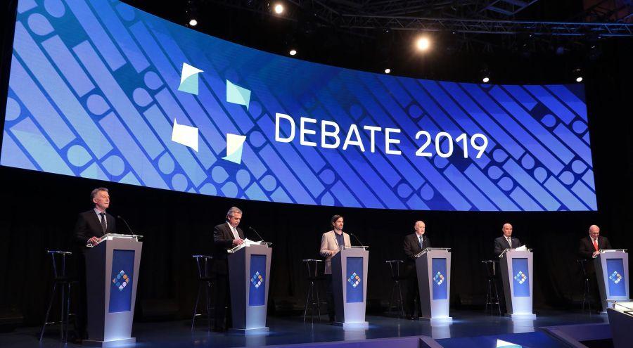 Debate 2019 segunda vuelta 20191020