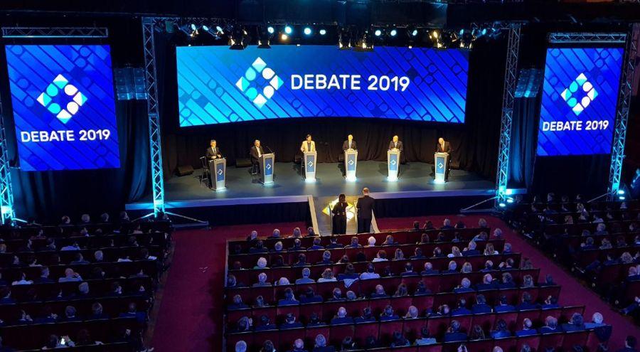 invitados y colaboradores en el debate presidencial2_g 20191020