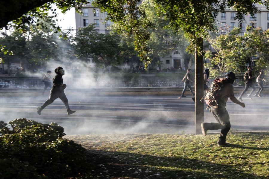 violencia en chile