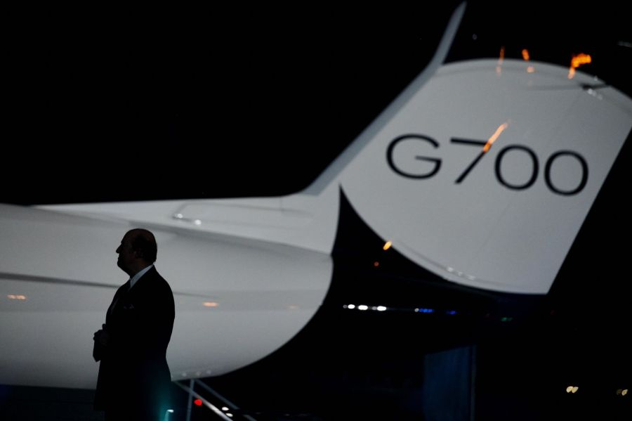Gulfstream Unveils G700 in Race for World's Biggest Private Jet