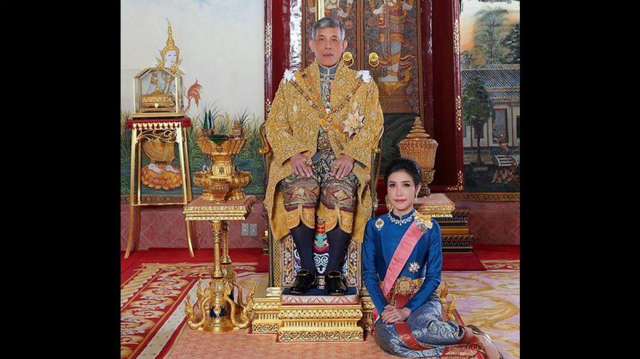 rey vajiralongkorn tailandia concubina