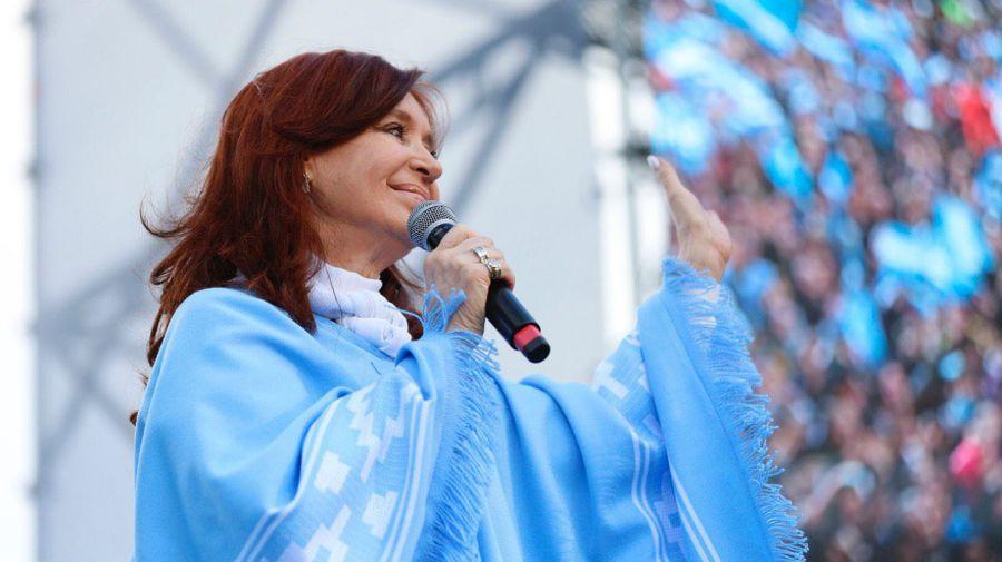 Cierre de campaña del Frente de Todos en Mar del Plata.