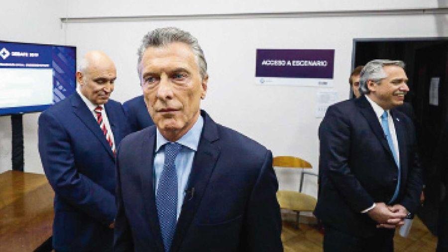 Macri en el Debate en Santa Fe