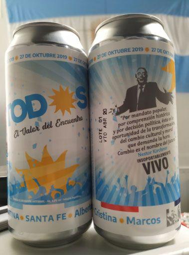 Cerveza K de Santa Fe