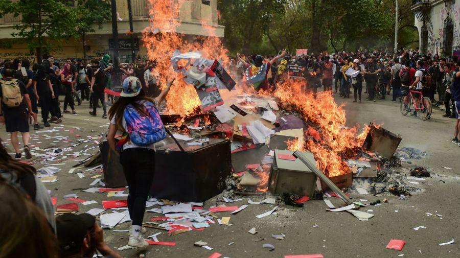 crisis en chile protesta marcha 20191025