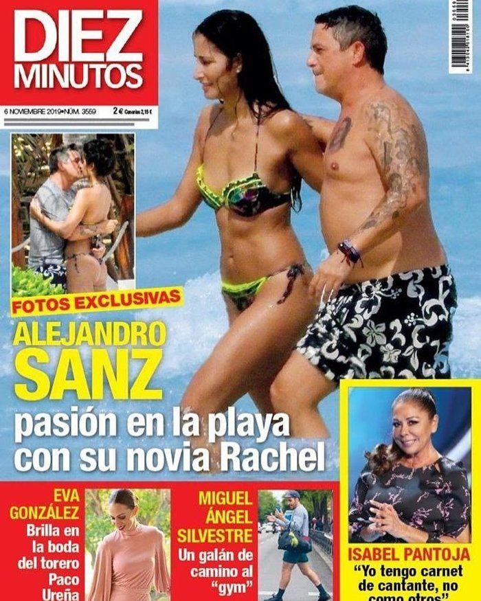Alejandro Sanz: cambio físico y nueva novia