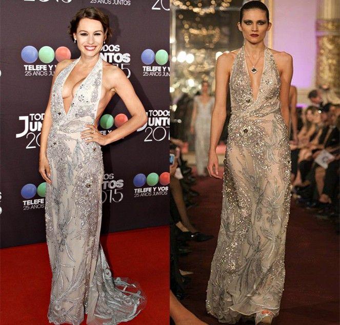 Pampita ya tiene diseñador del su vestido de novia