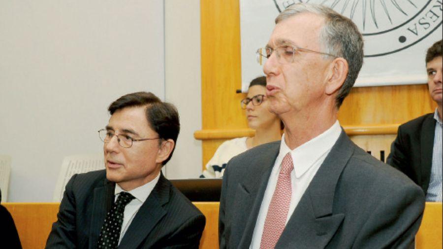 Jorge Fontevecchia y Sergio Danese
