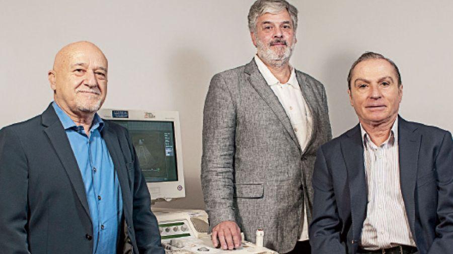 José Alonso, Horacio Capelli y Pablo Marantz