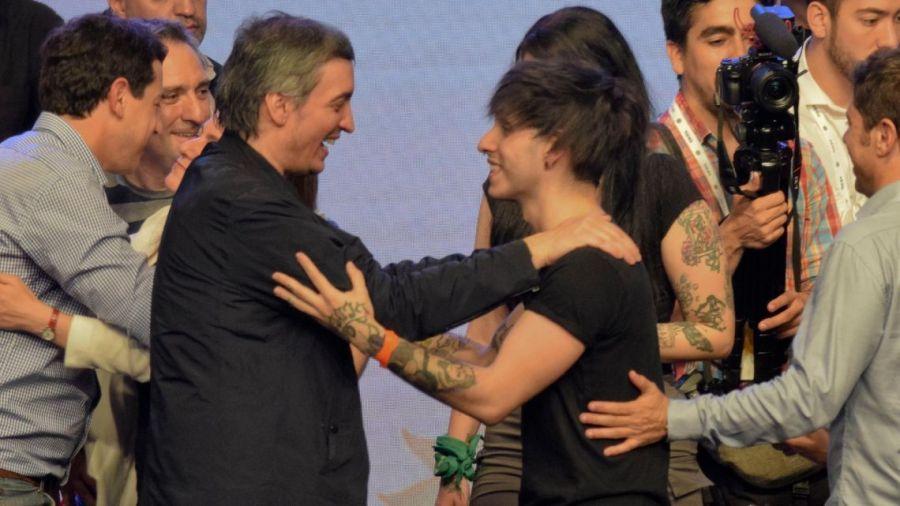 Máximo Kirchner y Estanislao Fernández