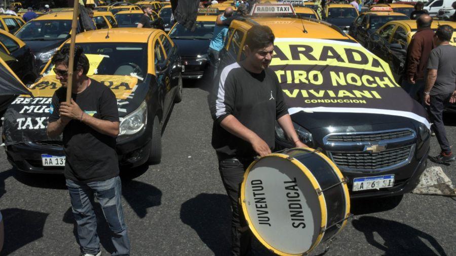 taxis protesta 10312019