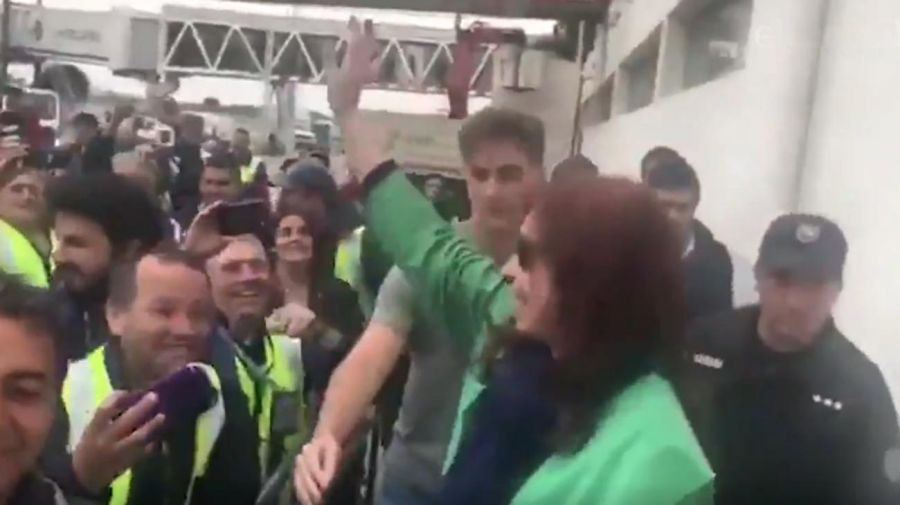 Cristina Fernández viaja a Cuba 20191101
