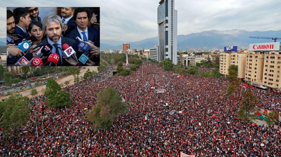 Piñera nombró a Gonzalo Blumel como Ministro de Interior, quien ejercía en la Secretaría General de la Presidencia como armador político