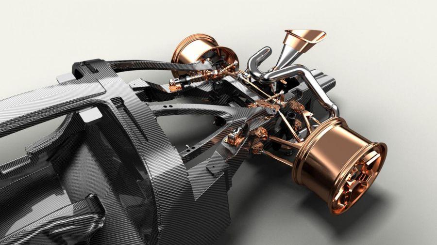 De Tomaso revela la motorización definitiva del P72