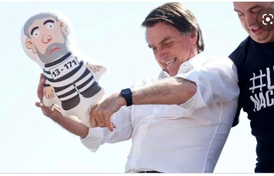 Lula preso inflable