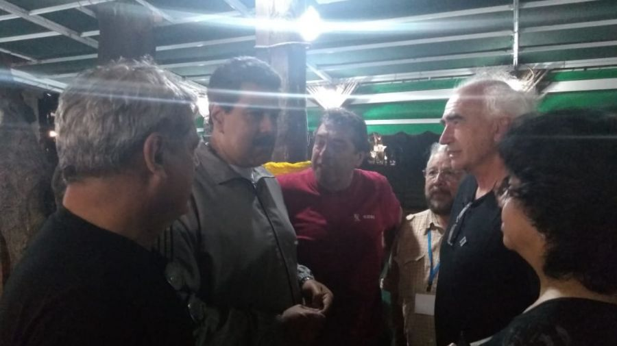maduro sindicalistas argentinos venezuela cuba g_20191105