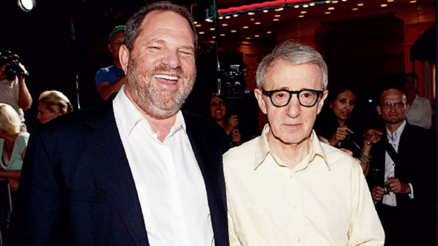 Harvey Weinstein y Woody Allen.