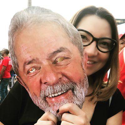Janja, la novia de Lula da Silva.
