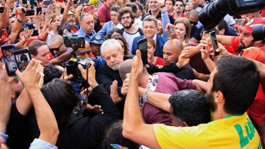 Lula Da Silva en libertad.