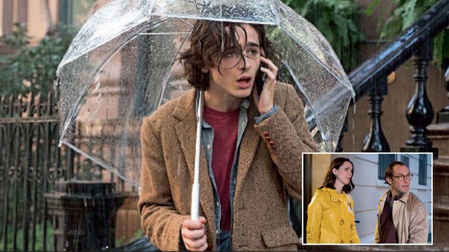 Un dia de lluvia en Nueva York