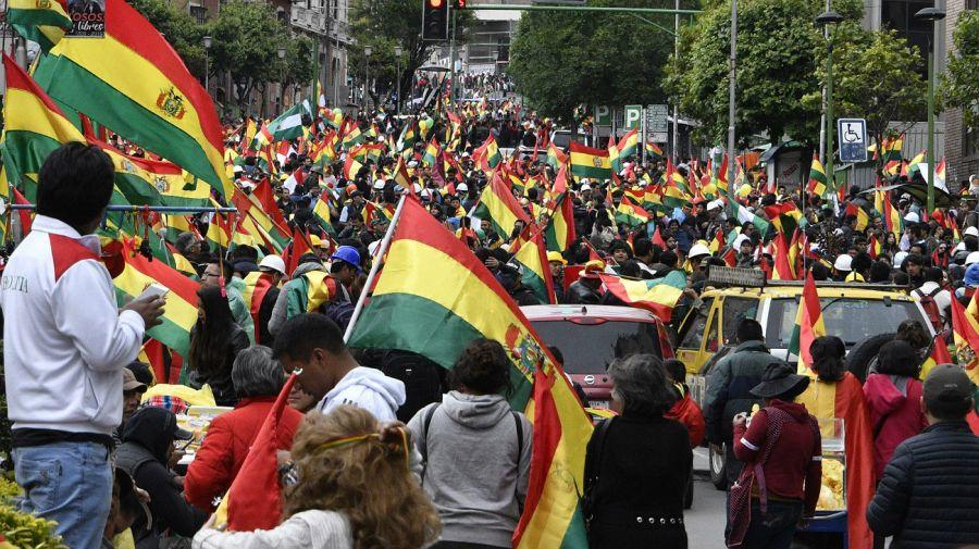 Manifestaciones y festejos tras la renuncia de Evo Morales en Bolivia.