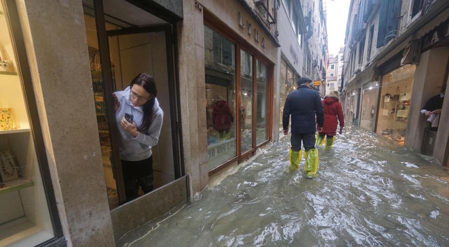 Venecia inundada por marea alta_G 20191112