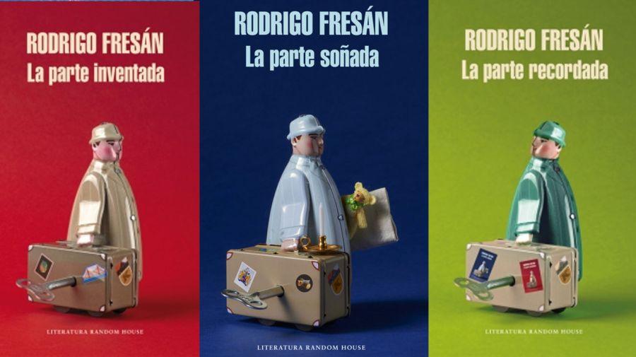 La trilogía de libros que le llevó diez años de trabajo a Rodrigo Fresán.