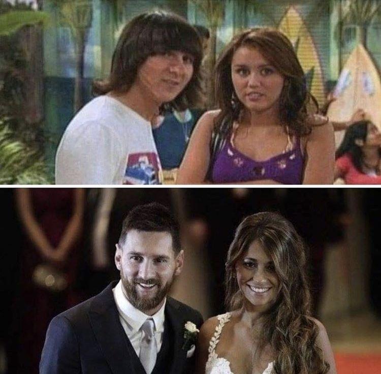 Messi antes y después