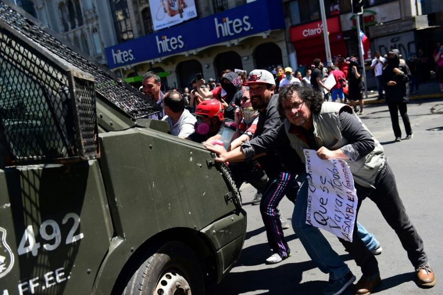 protestas chile afp bloomberg