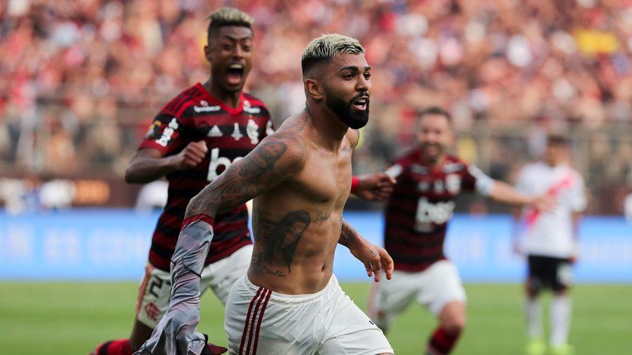 Gabriel Barbosa Flamengo River Libertadores