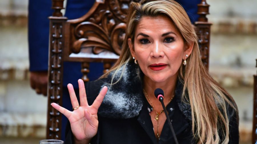 jeanine añez presidenta de facto bolivia 20191123