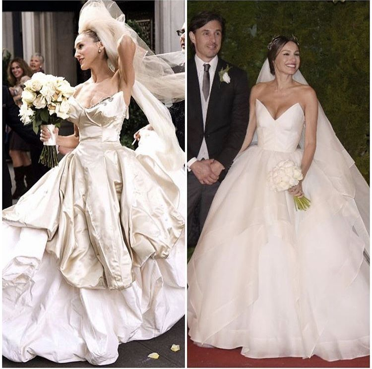 Vestidos de Carrie Bradshaw y Pampita